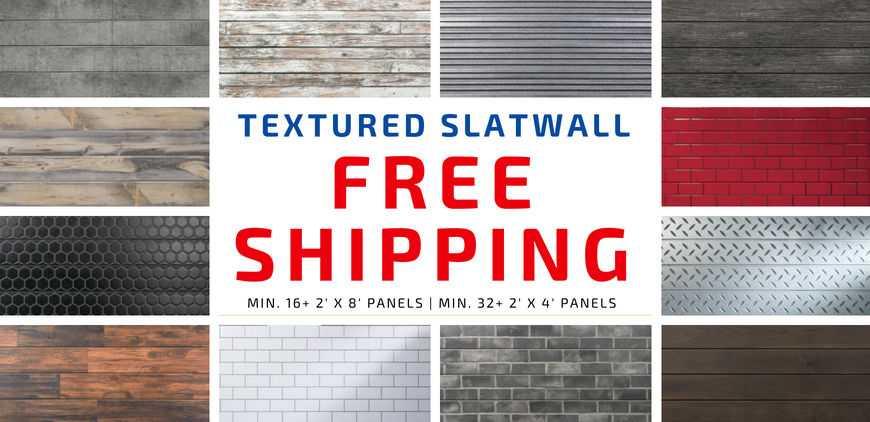 3D Slatwall Promotion