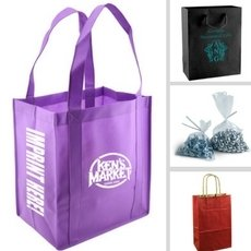 View all types of shopping bags for store supplies