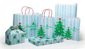 Snowy Tree Design Packaging