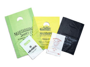Personalized Hi Density Plastic Merchandise Bags