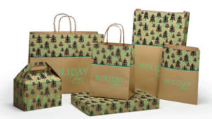 Holiday Trees Design Packaging