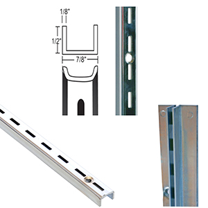0.5'' Slot Heavy Duty Wall Standards