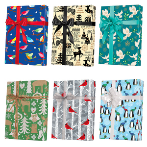 Holiday Animal Gift Wrap