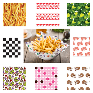 Food Wax Paper | Basket Liners