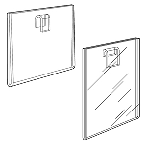 Gridwall Sign Holders