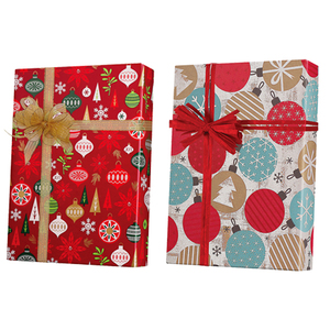 Christmas Ornament Gift Wrap