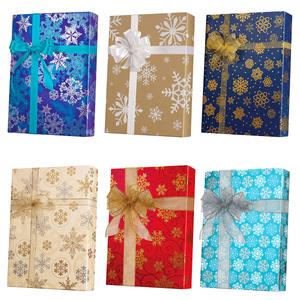 Snowflake Gift Wrap