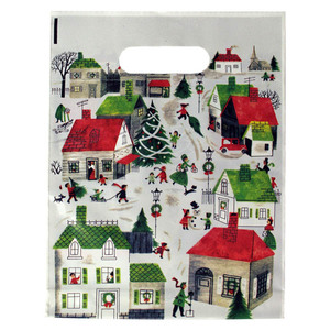 Christmas & Holiday Plastic Bags