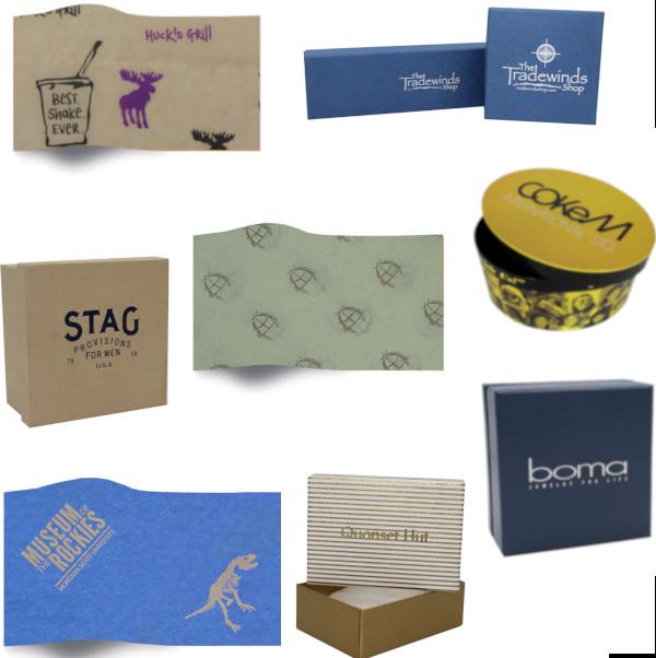 Custom Boxes & Tissue Paper