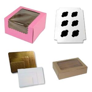 Cupcake Boxes | Inserts | Cake Pads