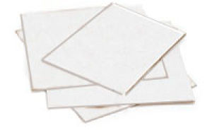 Flat Corrugated White Pads