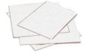 Flat Corrugated White Pads