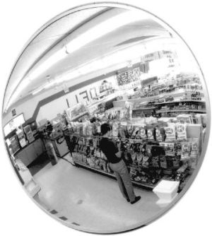 Anti Shoplifting Convex Glass Mirrors