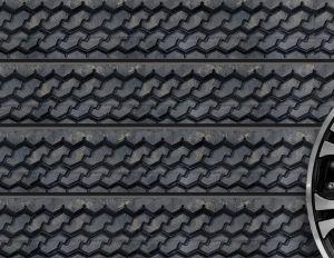 Tire Tread Textured Slatwall