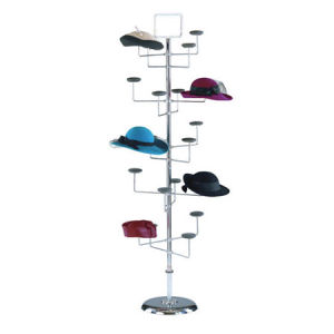 Floor Display Hat Racks