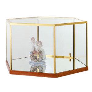 Hexagon Freestanding Jewelry Display Case Top Only
