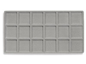 Jewelry Tray Liner Plastic; 15 comp