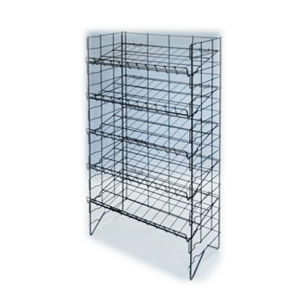 5 Tier Adjustable Wire Shelf Rack