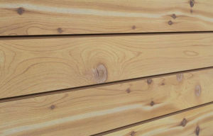 Wood Textured Slatwall
