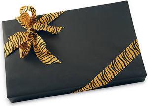 Jungle Print Polyester Ribbon