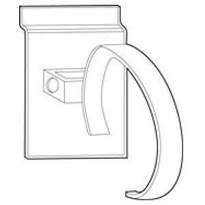Acrylic Single Watch Display for Slatwall or Slatgrid