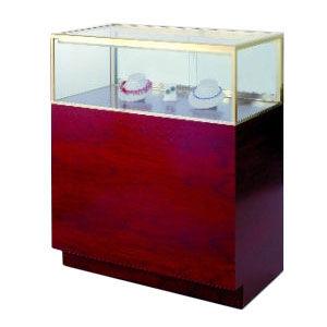 Full Sized Quarter Vision Jewelry Showcase
