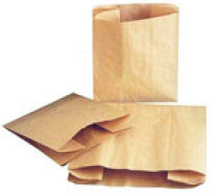 Natural Kraft & White Paper Merchandise Bags