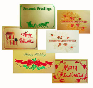 Christmas & Holiday Gift Enclosure Cards