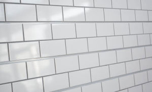 Tile Textured Slatwall