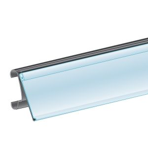 """Metro® & Kysor/Warren® Style, Clip-Over, Hinged 1.25""""H, Ticket molding"""