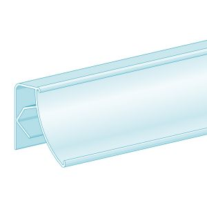 """FlexKlip® Clip-On, 25° Angle Fence Adapter 1.25""""H x 47.625""""L, Ticket molding"""