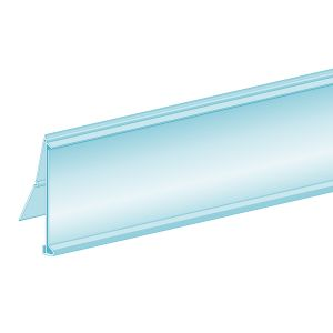 """ClearVision® FlexChannel® Clip-In Ticket Molding 1.25""""H x 47.625""""L"""