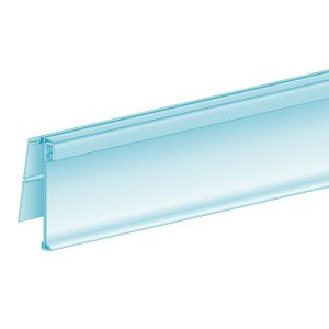 """ClearGrip™ FlexChannel®, Clip-In, Hinged 1.25""""H x 47.625""""L, Ticket molding"""