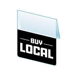 """Buy Local Shelf Talker, 2.5""""W x 1.25""""H"""