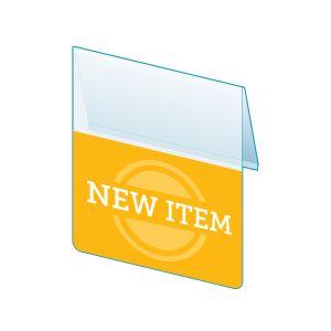 """New Item Shelf Talker, 2.5""""W x 1.25""""H"""