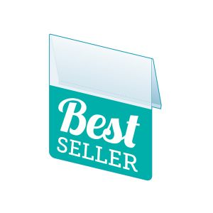 """Best Seller Shelf Talker, 2.5""""W x 1.25""""H"""