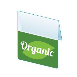 "Organic Shelf Talker, 2.5""W x 1.25""H"