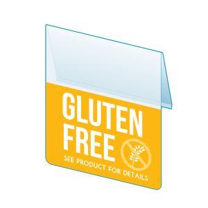 """Gluten Free Shelf Talker, 2.5""""W x 1.25""""H"""