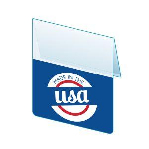 "Made In USA Shelf Talker, 2.5""W x 1.25""H"