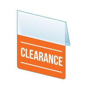 """Clearance Shelf Talker, 2.5""""W x 1.25""""H"""
