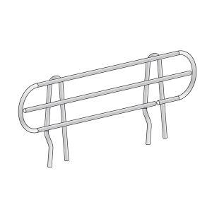 Wire Ledge for Metro® Shelf Management, Chrome