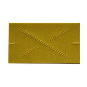 Yellow, 1 Line, Garvey 22 Labels