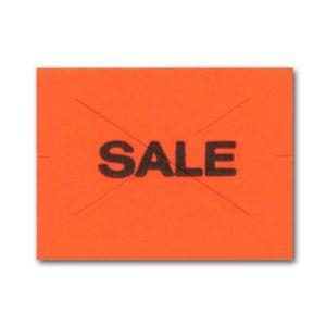 """Red """"Sale"""", 2 Line Garvey 22 Labels"""