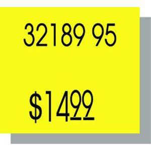 PB216 Labels, Yellow