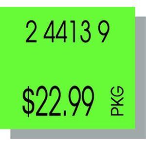 PB216 Labels, Fluorescent Green