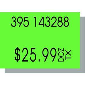 PB210 Labels, Fluorescent Green