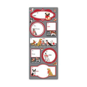 Label Sticker Sheets, Santa's Helpers Collection