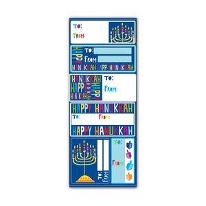 Label Sticker Sheets, Happy Hanukkah Collection