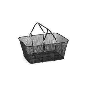 Black Mesh Wire Shopping Baskets