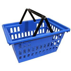 Blue Large Size, Shopping Baskets